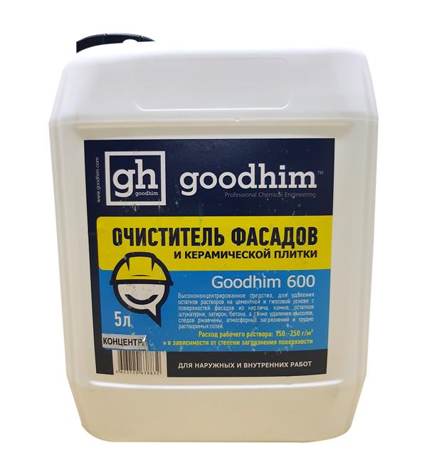 Очиститель фасадов GOODHIM 600